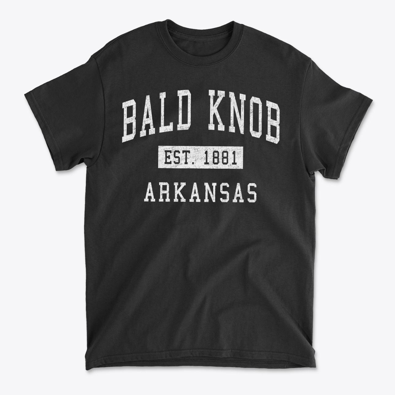 Bald Knob Arkansas Classic Established T-Shirt