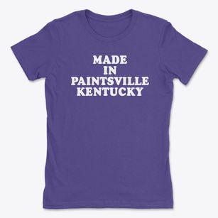 Paintsville Kentucky KY T-Shirt MAP